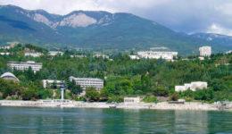 поселок Никита Крым